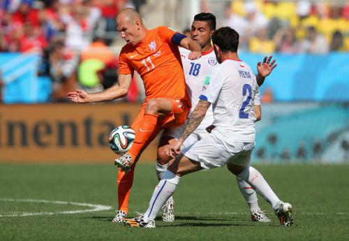 高清图-[B组末轮]荷兰2-0智利