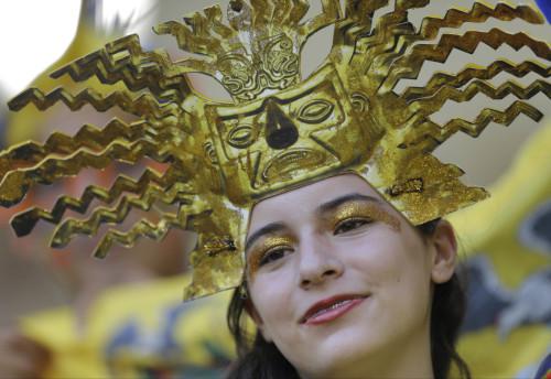 法国厄瓜多尔球迷集锦
