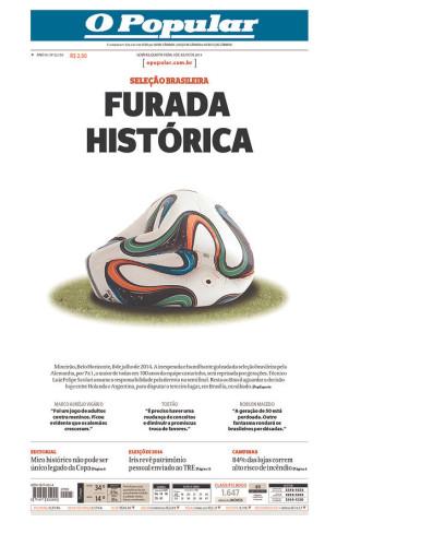 高清图-巴西媒体眼中的巴德之战