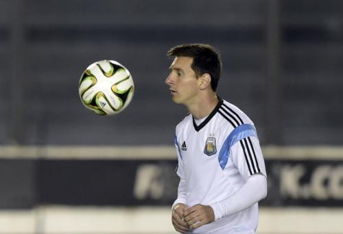 高清图-阿根廷训练备战决赛