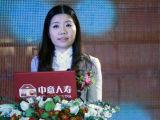 唯众传媒总裁杨晖致开幕辞