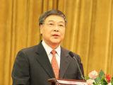 中国商业联合会会长张志刚致辞