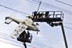 电缆卡住小飞机