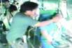 男子暴打公交司机