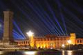 国家博物馆试亮彩灯