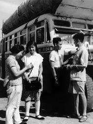 北京公交司机与售票员