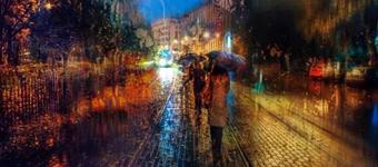 拍出雨中景物的色彩迷局