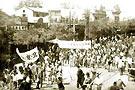 """1947年5月20日北平爆发了""""华北学生北平区反饥饿反内战"""""""