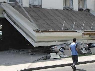 智利发生7.7级地震45人受伤(组图)