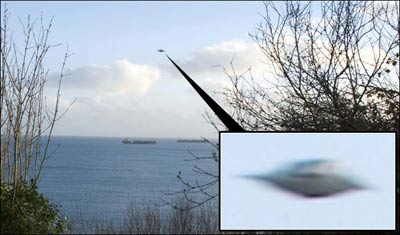 英国人拍下UFO清晰照片真实性获专家高度认同
