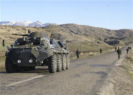 土耳其军越境打击伊拉克北部库尔德工人党武装