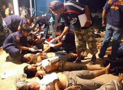 54名缅甸工人藏货车后厢偷渡时窒息而死(图)