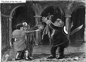 漫画:麦凯恩拿奥巴马比帕里斯漫画谈尾田图片