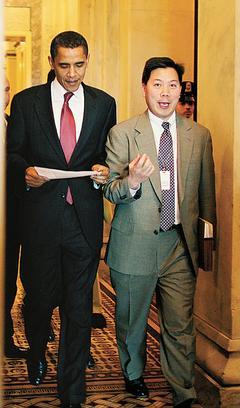 华裔卢沛宁担任奥巴马白宫交接小组执行总管