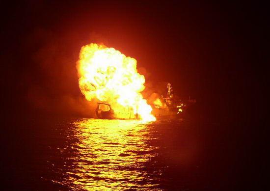 CNN称印度所击沉海盗船为泰国渔船