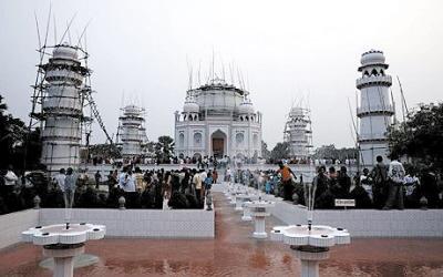 孟加拉国仿建泰姬陵引发外交争执(图)