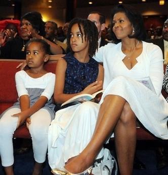 媒体披露奥巴马两个女儿白宫生活细节