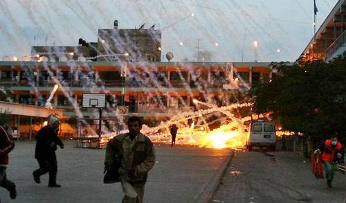 以色列承认在加沙袭击中使用白磷弹(图)