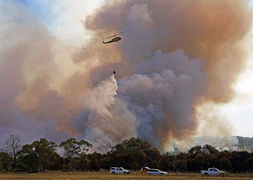 澳大利亚山林大火已致108人死亡(组图)