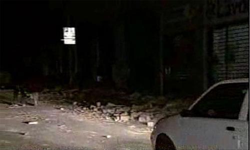意大利中部发生6.3级强震罗马震感明显