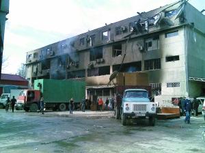 吉尔吉斯首都两处中国商城遭打砸抢(图)