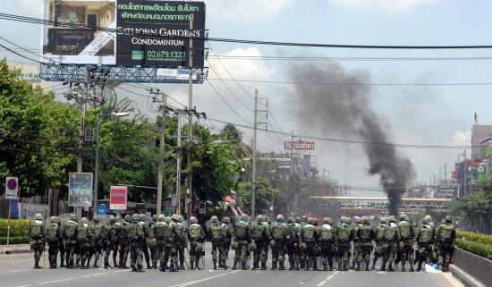 曼谷冲突事件全程回顾