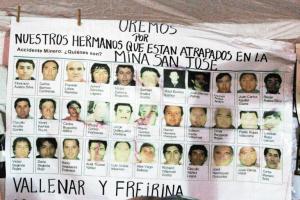 被困井下17天智利33名矿工还活着