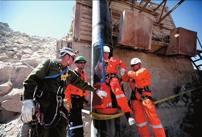 智利受困矿工今日开始升井生活将面临巨大改变