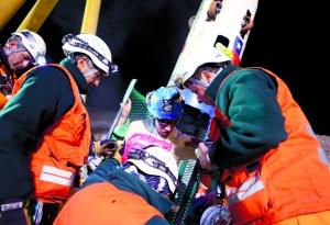 智利矿工井下69天生活揭秘:三班倒清理碎石