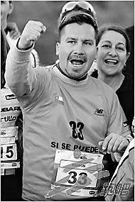智利被救矿工将参加马拉松曾在井下兜圈跑步