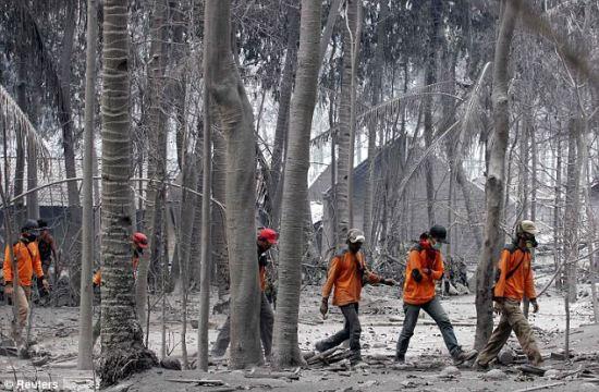 三家航空公司飞往印尼航班因火山爆发被取消