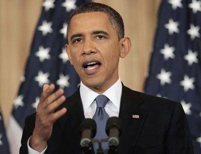 美国总统奥巴马19号在美国国务院发表中东政策演讲