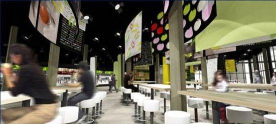 美食助阵 世界最大麦当劳餐厅将在伦敦奥运会址开业图片