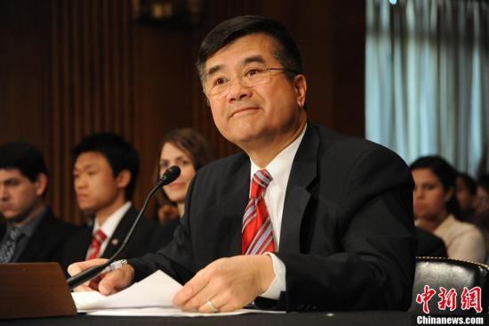 5月26日,美国参议院就骆家辉出任美国驻华大使举行听证会。吴庆才 摄  资料图