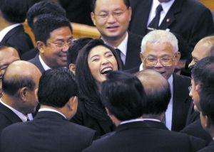 现年44岁,在下议院选举中当选泰国首位女总理