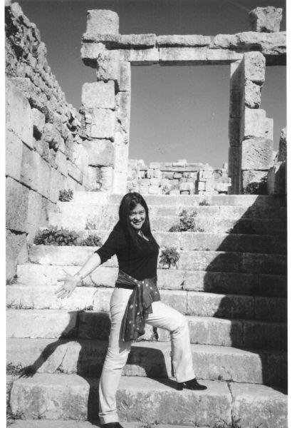 德宁在约旦。