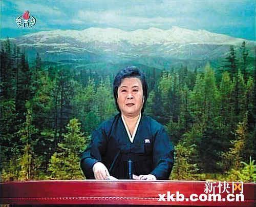 朝鲜女主播李春姬播报金正日逝世,泣不成声.