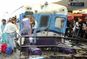 阿根廷昨夜发生重大交通事故城铁列车在首都华人商区出轨