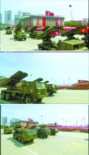 火箭炮方阵