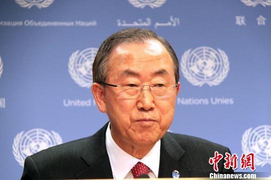 当地时间9月3日,联合国秘书长潘基文举行叙利亚局势记者会,强调任何军事干预叙利亚的行动都必须得到联合国安理会的授权。他同时警告,对叙利亚动武会造成更多动荡和流血。