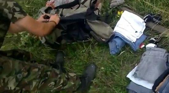 亲俄派武装误将客机击落影片曝光。(图片来源:《每日邮报》)
