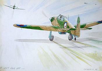 二战英军战俘绘画记录战争历史(组图)