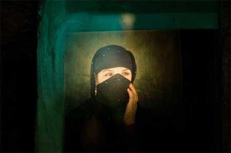 组图:阿富汗女人肖像类组照三等奖