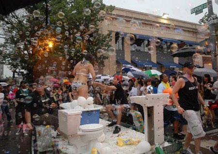 组图:美国华盛顿举行同性恋大游行---中老年人_老年 ...