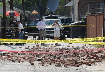美加州南部发生里氏5.4级地震数人受伤(图)