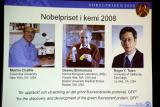 图文:2008年度诺贝尔化学奖在瑞典揭晓