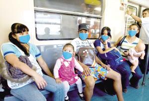 墨西哥爆发猪流感上千人感染68人死亡(组图)