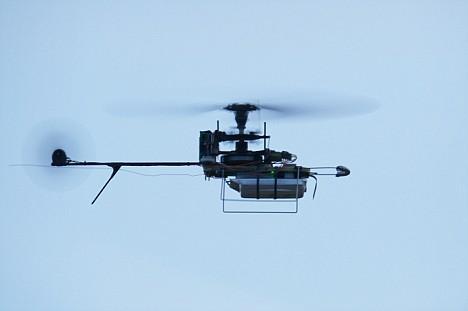 挪威研制香烟盒大小微型直升机(组图)