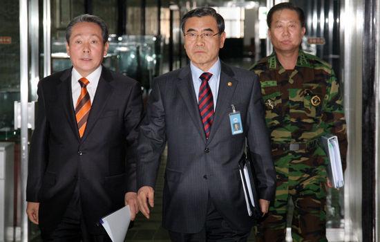 资料图:韩国就朝鲜发射导弹召开会议