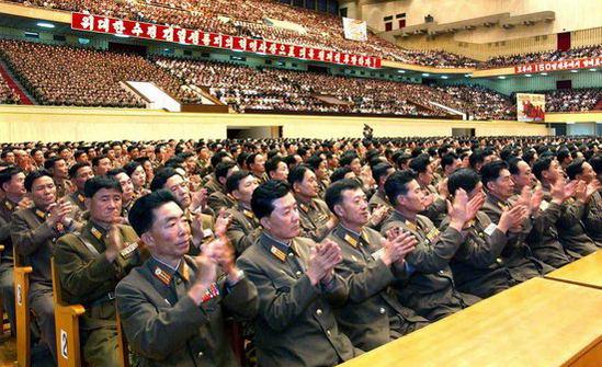 组图:朝鲜庆祝第二次核试验成功
